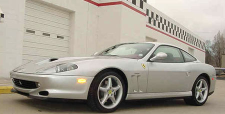 2001 ferrari 550 maranello mathews collection. Black Bedroom Furniture Sets. Home Design Ideas