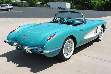 1960 Corvette Convertible Mathews Collection