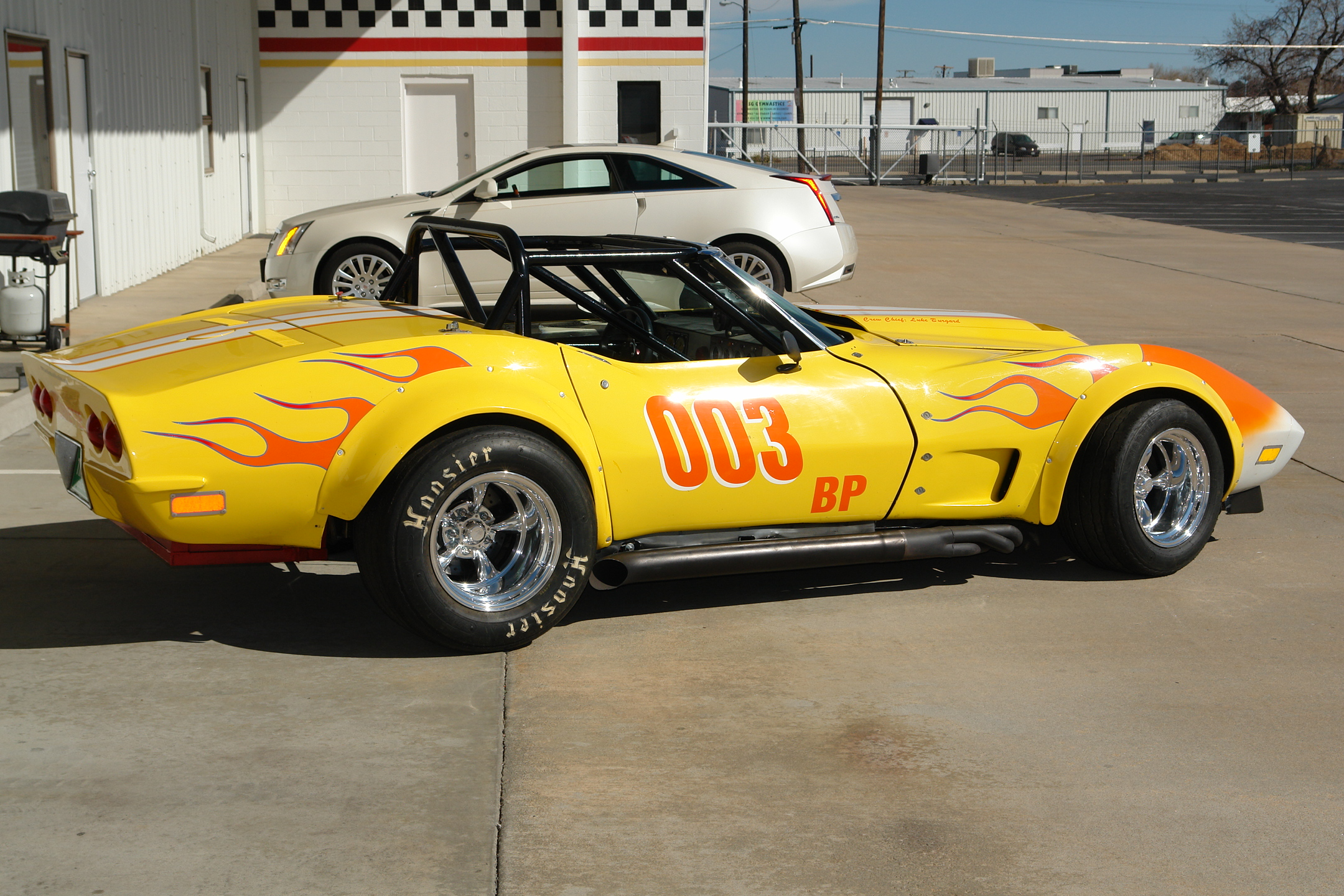 1969 Corvette Convertible Road Race Car Mathews Collection